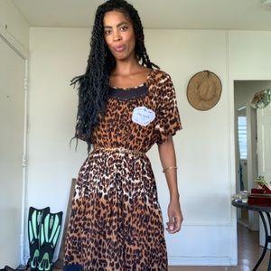 """Leopard Print """"Prada"""" dress"""